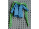 Part No: x1442c01  Name: Scala, Clothes Female Jacket with Medium Green Scarf
