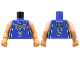 Part No: 973bpb133c01  Name: Torso NBA Milwaukee Bucks #7 Pattern / Flesh NBA Arms