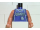 Part No: 973bpb150c01  Name: Torso NBA Sacramento Kings #16 Pattern / Flesh NBA Arms