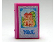 Part No: 33009pb029  Name: Minifigure, Utensil Book 2 x 3 with House Picture Photo Album Pattern (Stickers) - Set 3119