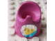 Part No: 33050pb04  Name: Scala Baby Potty with Duck Pattern (Sticker) - Set 7586