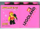 Part No: 4066pb342  Name: Duplo, Brick 1 x 2 x 2 with Legoland Live! 2009 Legoland Windsor Pattern