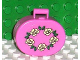 Part No: 6203pb01  Name: Scala Utensil Oval Case with Garland of Roses Pattern (Sticker) - Set 5805