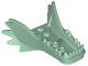 Part No: 25380  Name: Dragon Head (Ninjago) Lower Jaw with Fangs and Spikes