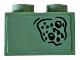 Part No: 3003pb099  Name: Brick 2 x 2 with Battle Of Atlantis Pattern #3 (Sticker) - Set 76085