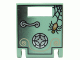 Part No: 4346px7  Name: Container, Box 2 x 2 x 2 Door with Slot and Safe with Spider Pattern