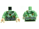 Part No: 973pb0581c01  Name: Torso SW Camouflage Pattern Weapon Belt / Sand Green Arms / Light Flesh Hands