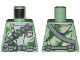 Part No: 973pb0582  Name: Torso SW Camouflage Pattern Weapon and Ammunition Belts Pattern