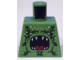 Part No: 973pb0806  Name: Torso Atlantis Barracuda with Open Mouth and Seaweed Pattern