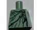Part No: 973pb1063  Name: Torso Female Black and Dark Green Robe Pattern (Lady Liberty)