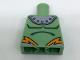 Part No: 973pb2703  Name: Torso Shoulder Armor with Rivets and Orange Lightning Pattern