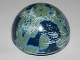 Part No: 98107pb01  Name: Cylinder Hemisphere 11 x 11, Studs on Top with Naboo Blue / Green Planet Pattern (9674)