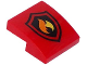 Part No: 15068pb052  Name: Slope, Curved 2 x 2 No Studs with Fire Logo Pattern