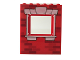 Part No: 15627pb005  Name: Panel 1 x 6 x 6 with Window with Bricks and White Window Frame Pattern