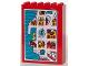 Part No: 2042pb02  Name: Fabuland Cupboard 2 x 6 x 7 with Fabuland Map Pattern (Sticker) - Set 3682