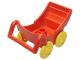 Part No: 2147c01  Name: Duplo Pram (Baby Carriage, Stroller)