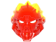 Part No: 24148pb03  Name: Bionicle Mask of Fire (Unity) with Marbled Trans-Neon Green Pattern