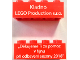 Part No: 3001pb140  Name: Brick 2 x 4 with 'Kladno LEGO Production s.r.o.' and 'Thank you for your help in October 2018' (Translated Czech) Pattern on Opposite Sides