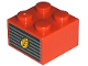 Part No: 3003pb022  Name: Brick 2 x 2 with Wheat Spike on Grille Pattern (Sticker) - Set 7634