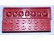 Part No: 3007miB  Name: Minitalia Brick 2 x 8 with Bottom Tubes