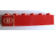 Part No: 3009pb098  Name: Brick 1 x 6 with 'B' Pattern (Sticker) - Set 164