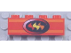 Part No: 3010pb045  Name: Brick 1 x 4 with Fire Logo Pattern