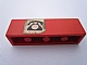 Part No: 3010pb136  Name: Brick 1 x 4 with Black Telephone on White Background Pattern (Sticker) - Set 148