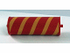 Part No: 30135pb01  Name: Duplo Farm Plow Type 1, Roller Attachment, Smooth with Yellow Cylindrical Stripe Pattern