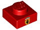 Part No: 3024pb013  Name: Plate 1 x 1 with Ferrari Emblem Pattern