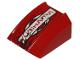 Part No: 30602pb046L  Name: Slope, Curved 2 x 2 Lip, No Studs with 'YUBIHAMA' Pattern Model Left (Sticker) - Set 8130