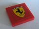 Part No: 3068bpb0104  Name: Tile 2 x 2 with Ferrari Logo Pattern (Sticker) - Set 8386