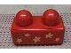 Part No: 31001pb02  Name: Primo Brick 1 x 2 with 5 Yellow Stars Pattern