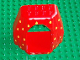 Part No: 31072pb01  Name: Duplo Rock Cave with Door Opening and Dewdrops Pattern