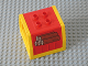 Part No: 31304c01pb02  Name: Duplo, Train Freight Container with Timber Pattern with Yellow Container Frame