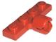 Part No: 3183b  Name: Plate, Modified 1 x 4 with Towball Socket, Long, 4 Slots