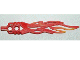 Part No: 32558pb01  Name: Bionicle Weapon Toa Flame Sword 2 x 12 with 2 Pin Holes and Marbled Bright Light Orange Pattern