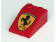 Part No: 3298pb015  Name: Slope 33 3 x 2 with Ferrari Logo Pattern