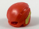 Part No: 33862pb01  Name: Minifigure, Headgear Helmet with Eye Holes and Gold Wings Pattern