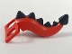 Part No: 35756pb01  Name: Minifigure, Costume Tail Dragon with Black Spikes