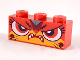 Part No: 3622pb109  Name: Brick 1 x 3 with Cat Face Fierce Pattern (Angry Warrior Kitty)