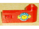Part No: 3821pb011  Name: Door 1 x 3 x 1 Right with Box and Arrows and Globe Pattern (Sticker) - Sets 6542 / 4555
