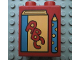 Part No: 4066pb033  Name: Duplo, Brick 1 x 2 x 2 with Book and Pencil Pattern