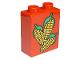 Part No: 4066pb047  Name: Duplo, Brick 1 x 2 x 2 with Corn Pattern
