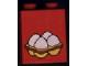 Part No: 4066pb050  Name: Duplo, Brick 1 x 2 x 2 with 4 Eggs Pattern
