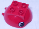 Part No: 40711pb01  Name: Duplo Ball Tube Cover Ring Hinged Top with Eyes