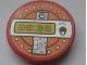 Part No: 4150pb145  Name: Tile, Round 2 x 2 with Gray '00:30' Digital Display Pattern (Sticker) - Set 8630