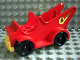 Part No: 4251c01  Name: Duplo Fire Pumper With Hose Pattern
