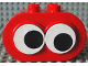 Part No: 4258c01pb01  Name: Duplo, Brick 2 x 4 x 2 Rounded Ends and Two Moving Eyes