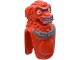 Part No: 43902pb01  Name: Creature Head and Torso - Lion-Dog with Jun-Chi Pattern