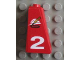 Part No: 4460pb003  Name: Slope 75 2 x 1 x 3 with Firefighter Logo and 2 Pattern Left (Sticker) - Set 8280